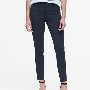 Banana Republic Navy Sloan Pants Size 6P